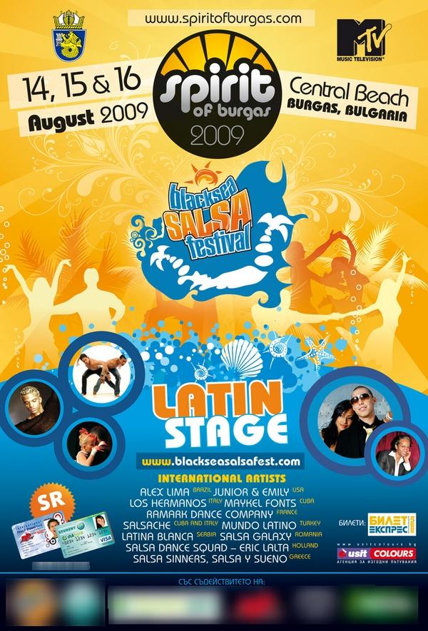 Spirit of Burgas 2009 / Black Sea Salsa Festival 2009